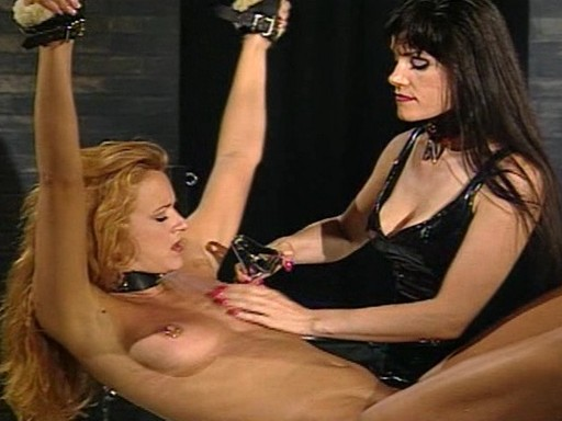 Miranda brings her insolent servant sally to Mistress Payne's dungeon for a series educational sessions.