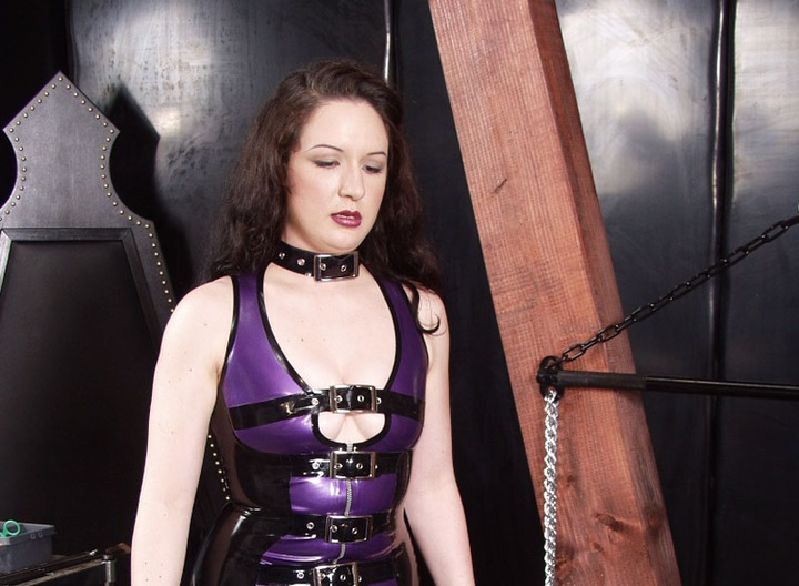Trapped in an air filled body bag, this Rubber Slave is learning what happens when he displeases his Mistresses.  Both of them have different way to punish, so they are taking turns tickling and torturing him until he learns to behave.