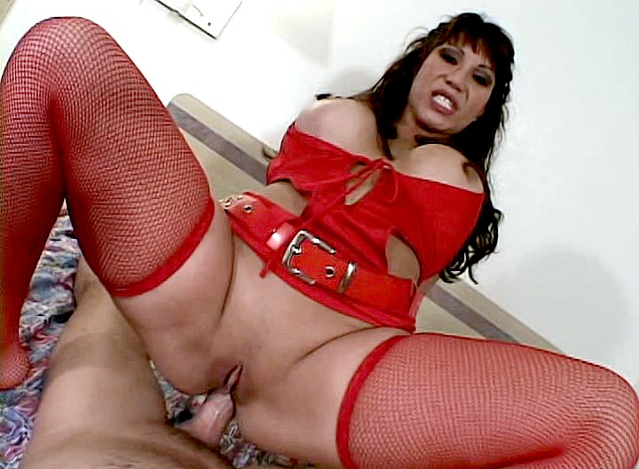 It's Ava's first night out, and she picked up that nice hung stud! Here she is getting down to business with his big throbbing rod up her tight little asshole!