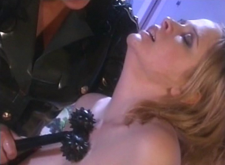 This little blond bitch has a serious latex craving! She likes it so much that she's ready to do anything to get some. You'll see her beg to cum with a nice vibrator up her pussy.