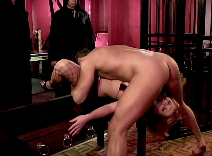 Katja's a dirty little whore and she loves to play switch with her slave! Watch them dominate each other while they're having good hardcore fucking sex! 