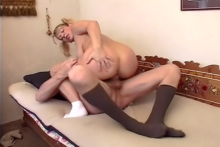 Teen Playing with Old Cock...