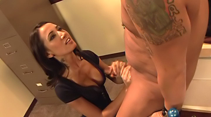 Lovely student helps an infirm...