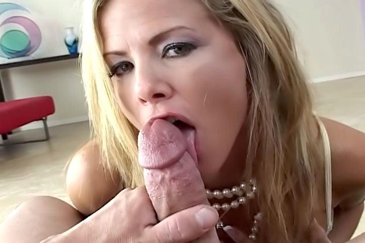 She likes appreciating the time she gets to spend with a cock so she sucks it real slow at first! Once she gets into it though is where the real fun starts, watch this blonde slut build her way up to an explosion of cum!