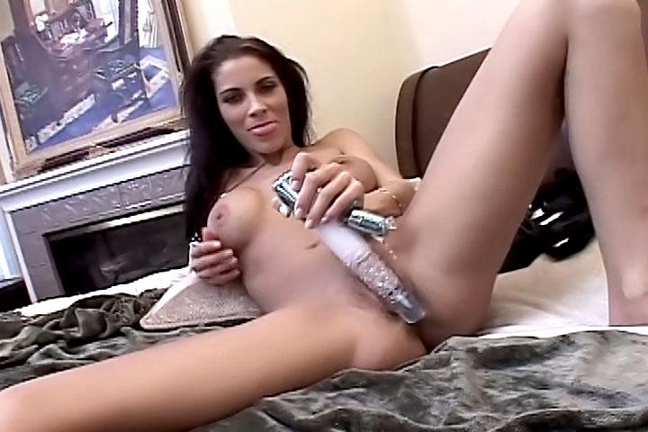 This beautiful babe gets horny and decides to film herself masturbating with a hard dildo! Her smooth pussy will tease you as it slides on and off that pole, you'll be wishing it was your cock instead!