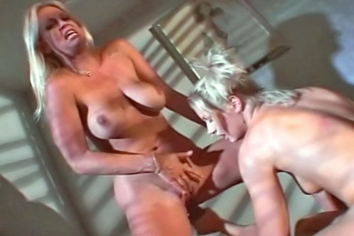 Holly and her hot grilfriend made up this special lesbian scene just for you. No dicks are pockin' around this time, only hot, sensual women action!