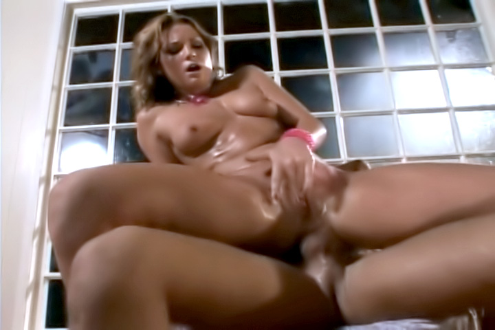 Flower Tucci is bubble butt girl who squirts like a geyser each time she has a cock stucked into her tight ass.