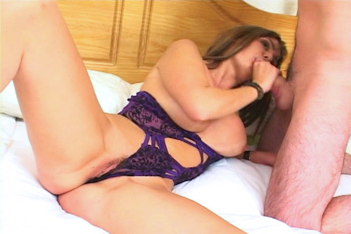 We found that greedy chick who wanted to give a blow job! We brought her to our studios, and it didn't took long for her to get on her knees and drain the cock.