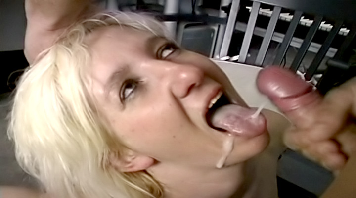 When these chicks see a hard dick, they suck it fast to make sure they get the biggest loads spilled over them!