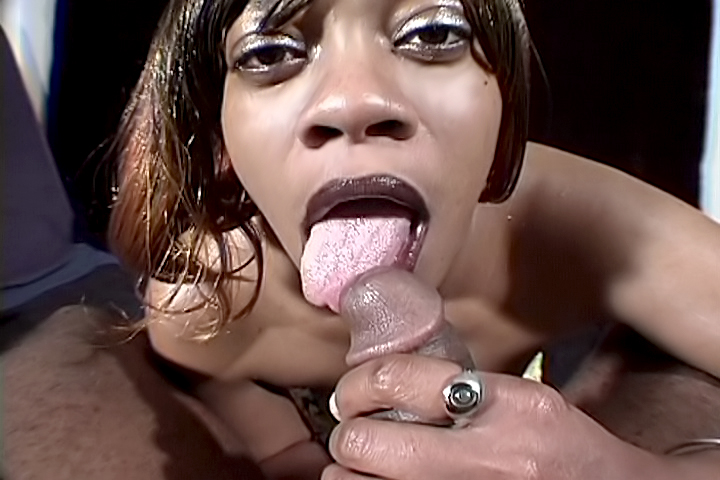 Passion is a nasty cocksucker who does this every day of her life. She grabs your cock, slowly suck it until you jizz in her mouth.