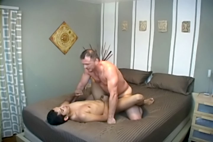 Here comes another latin stud who craves for a big white cock in his butt.