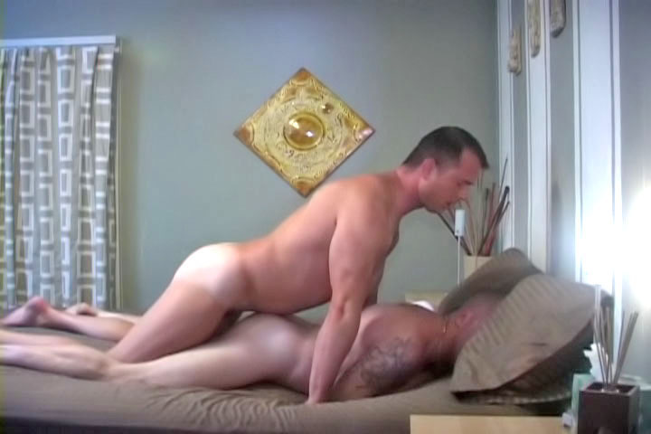 Thomas brings home a cute boy and goes bareback on his tight ass until he cum all internally!