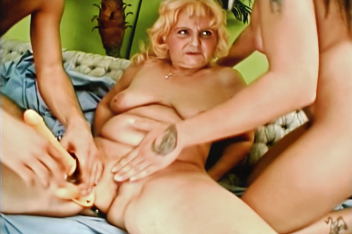 Grand-Ma Found Her Favorite Toy: A Strap-On! Watch Her Using It For The First Time On A Cute Couple. The Girl In This Clip Could Not Wait To Try It, On Top Of Her! While Watching His Girlfriend Enjoying It So Much, The Man Couldn't Resist No More And Puts It In His Tight Asshole! Nasty Threesome!