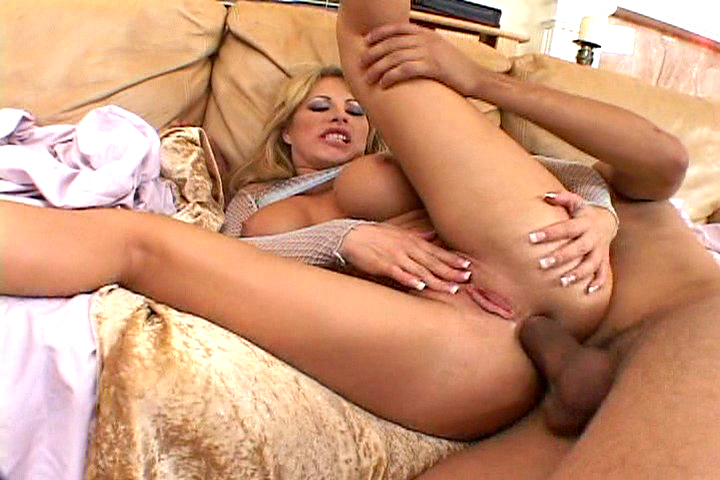 Hot and horny nympho gets her tight ass slammed by a hard and bulging cock.