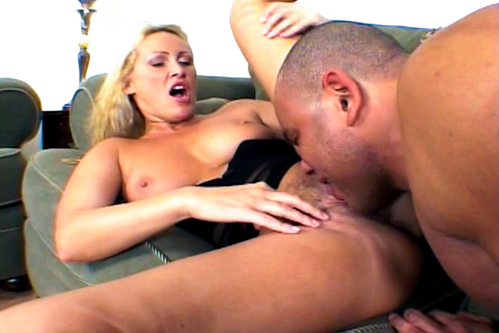 Two big black cocks for Mandy ...